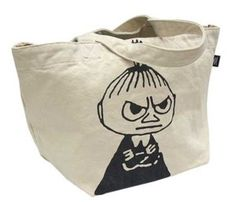 The Story of Moomin Valley Little My Vintage Color Tote Bag | eBay