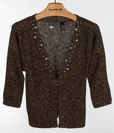 BKE Boutique Wool Blend Cardigan Sweater