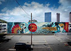 """"""" by Shepard Fairey (Obey) New Shepard, Shepard Fairy, Miyazaki, Shepard Fairey Obey, Pin Up, Graffiti, Murals Street Art, Art En Ligne, Art Japonais"""