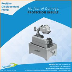 Swift Auxi Technik manufactures Positive Displacement Pumps which protects it from damage with a 14 square-feet filter pumps for better operational function-ability.   #PositiveDisplacementPumps #PositiveDisplacementPumpsManufacturers #PositiveDisplacementPumpsExporters #PositiveDisplacementPumpsSuppliers