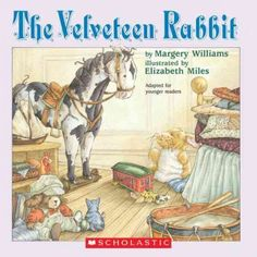 """""""The Velveteen Rabbit"""" by Margery Williams worth read, book worth, rabbits, margeri william, rabbit book, picture books, fairi tale, velveteen rabbit, children book"""