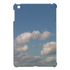 Customizable Carolina Blue Skies Glossy Mini iPad Case. Check this product out at www.zazzle.com/misseysphotography*