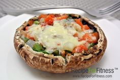 Recipe: Stuffed Portabello Mushroom