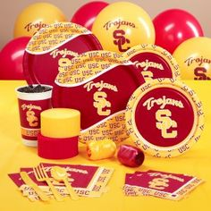 USC Trojans College Party Supplies