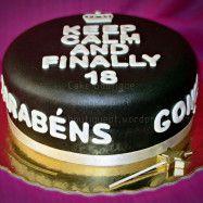 Bolo dos 18 anos / 18th anniversary cake  #Dezoito #Eighteen #Teen #Bolo #Oeiras #Cake