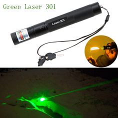 Produs - 10000mW Adjustable Focus Burning Match Lazer 301 Green Laser Pointer Pen with Safe Key for Sale 8000 Meters