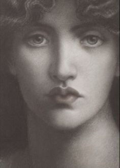 D.G Rossetti, Astarte Syriaca 1875 (study)
