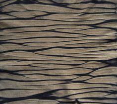 Arashi Shibori on Leather, Union Dye - Liz Oliver