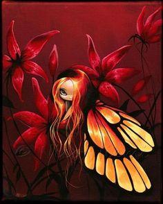 Art: Firey Fairy by Artist Nico Niemi
