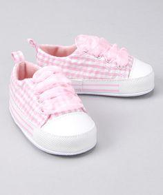 Light Pink Gingham Sneaker