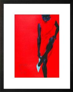 Black Beauty - Red Dress - Wolfgang Joop - Bilder, Fotografie, Foto Kunst online bei LUMAS