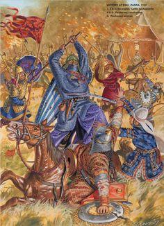 Victory at Eski Zagra, 1122
