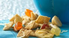 Tropical Island Chex® Mix should be a great snack for both me and the kids. I'm thinking any tropical juice concentrate would taste good.