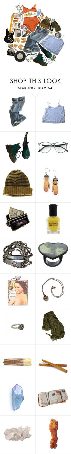 """my room is a mess and so is my life"" by grrlafraid on Polyvore featuring Laura Urbinati, Polo Ralph Lauren, Brandy Melville, Dr. Martens, Madewell, Margaux Lange, AmeriLeather, Deborah Lippmann, Ann Demeulemeester and ASOS"