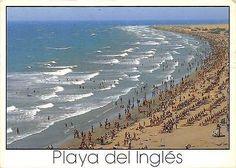 Playa del Inglés, Isla de Gran Canaria, Islas Canarias