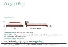 oregon bed dimensions