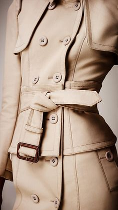 Corset Trench Coat | Burberry