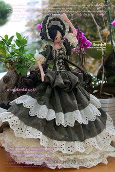 Анастасия Ковтонюк: бутик Текстильери: корейская текстильная кукла