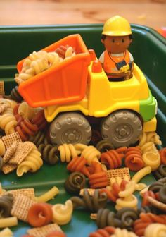 World Play: Construction Site - The Imagination Tree Small World Play Construction SIteSmall World Play Construction SIte Eyfs Activities, Nursery Activities, Toddler Activities, Indoor Activities, Family Activities, Toddler Games, Summer Activities, Austin Activities, Preschool Themes