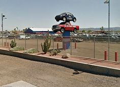 U Pull and Pay  Salvage yard in Phoenix Arizona