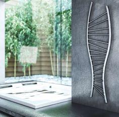 RODLIER-DESIGN présente Radiateur CHROMOSON de GRAZIANO SCULPTURAL DESIGN made in italy
