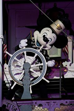 Great photo of Steamboat Willie. Photo by #JonFiedler