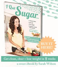 For those of you who feel you may be addicted to sugar and it is ruining your health and energy, this a great book, 8-week detox plan, and blog just for you. I am going through the detox right now myself!