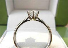 婚約指輪 横 - Google 検索