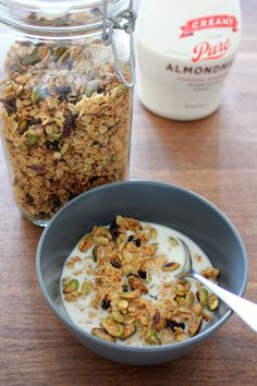 Eleven Madison Park Granola. They give you at the end as a gift ...