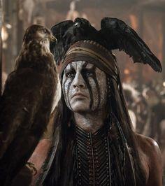 """Johnny Depp en """"El Llanero Solitario"""" (The Lone Ranger), 2013"""