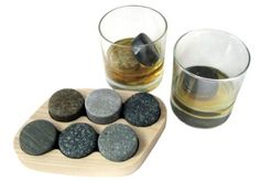 Amazon.com: Sea Stones On The Rocks, Granite Chillers with 2 Free 10-Ounce Tumblers: Kitchen & Dining