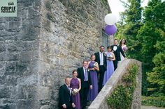 The bridal party showing of the shades of purple and matching balloons! Weddings at The Radisson Galway photographed by Couple Photography. Got Married, Getting Married, Shades Of Purple, Couple Photography, Perfect Fit, Balloons, Weddings, Bridal, Couples