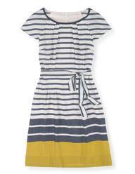 Easy Day Dress (Yellow Stripe)