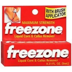 Freezone Corn and Callus Remover Liquid 0.31 oz