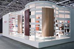 Argolite exhibition stand at Swissbau 2014 fair by Dobas, Basel – Switzerland