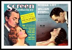 Re-watching The Thin Man on TCM today, I was reminded of why these two will always be my favorite classic screen team. I have other favorites but I'm not sure if any of them come close to the perfection of Myrna Loy and William Powell- 14 films over a span of 13 years. I've have every film…