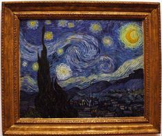 Photo Gallery of Famous Paintings by Famous Artists: Famous Paintings: The Starry Night by Vincent van Gogh