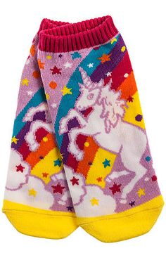 MKL Accessories- Unicorn Ankle Socks- hahah I want these