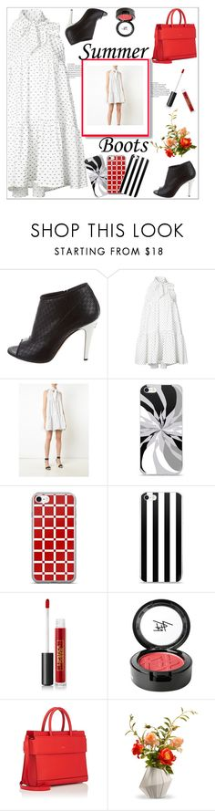 """Summer Booties"" by atelier-briella ❤ liked on Polyvore featuring Chanel, Lisa Marie Fernandez, Lipstick Queen, Beauty Is Life, Givenchy, National Tree Company, cute, chic, Elegant and iPhonecases"