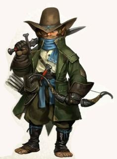 Resultado de imagem para gnome hunter d&d