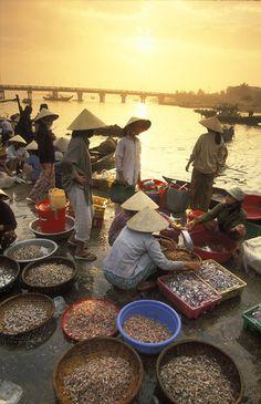 fish market, Hoi An, Vietnam   David Noton Photography