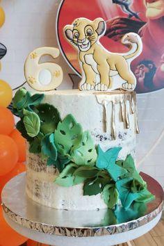 Lion Guard Birthday Cake, 2nd Birthday Cake Boy, Lion Birthday Party, Jungle Birthday Cakes, Lion King Birthday, Boy Birthday Parties, Lion Guard Cakes, Lion King Cakes, Lion King Theme