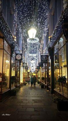 A beautifully festive Morgan Arcade, Cardiff City centre, South Wales, UK - 2014 - Lisa Wilmot