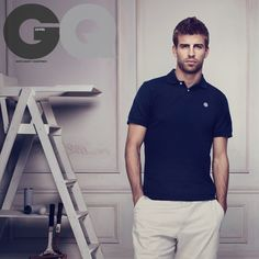 Gerard Pique. Not gonna lie, I don't know who this is (Sorry folks!) but he was so unbelievably attractive, I had to pin it.