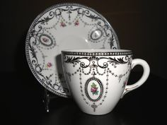 Art Deco Shelley China Cup and Saucer
