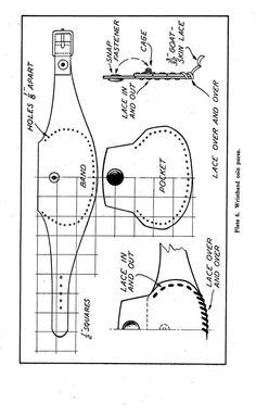1939 Leather Work Book Handbags Bags Pattern от schmetterlingtag