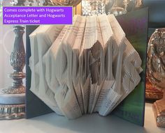 Hey, I found this really awesome Etsy listing at https://www.etsy.com/listing/250133752/harry-potter-folded-book-art-harry