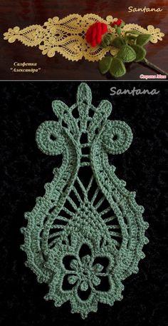 Crochet ideas that you'll love Crochet Motifs, Crochet Stitches Patterns, Freeform Crochet, Irish Crochet, Crochet Designs, Russian Crochet, Lace Doilies, Crochet Doilies, Crochet Flowers