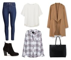 """""""Look de uma vida"""" by bloguerosa ❤ liked on Polyvore featuring Uniqlo, H&M, MANGO, Rails and Nly Shoes"""
