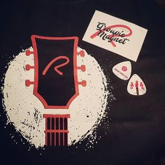 Lovely #surprise #tshirt #plectrum and #sticker in the post today! Thank you @roadie_tuner